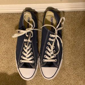 Navy Blue Converse Sneaker Shoe